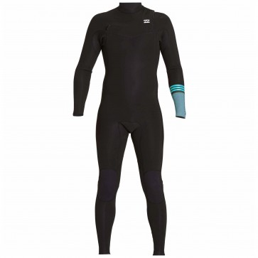 Billabong Revolution Tri Bong 4/3 Chest Zip Wetsuit - Black 2