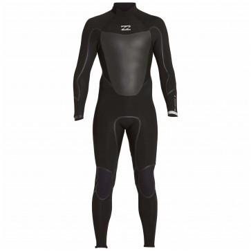 Billabong Absolute X 4/3 Back Zip Wetsuit - Black