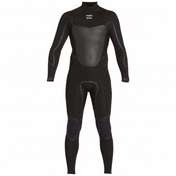 Billabong Absolute X 3/2 Chest Zip Wetsuit - Black