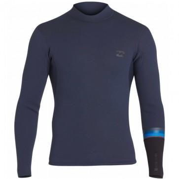 Billabong Wetsuits Revolution DBAH Reversible 2mm Long Sleeve Jacket - Slate