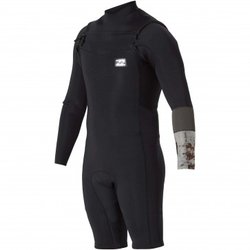 Billabong Revolution Tri-Bong 2mm Long Sleeve Spring Suit - Black