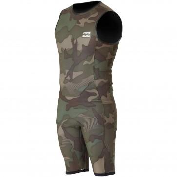 Billabong Revolution Tri-Bong Reversible 2mm Sleeveless Spring Suit - Camo