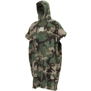 Billabong Vadar Poncho Changing Towel - Camo