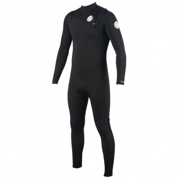 Rip Curl Aggrolite 3/2 Chest Zip Wetsuit - Black