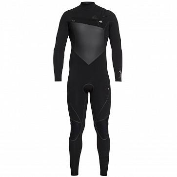 Quiksilver Highline Plus 3/2 Chest Zip Wetsuit - Black