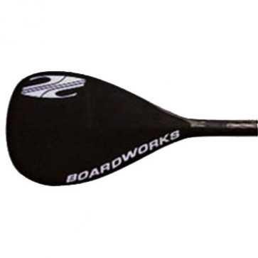 Boardworks Hybrid Carbon/Fiberglass 1pc SUP Paddle - Black