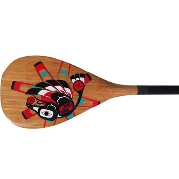 Boardworks Raven Carbon 2pc SUP Paddle - Wood Veneer