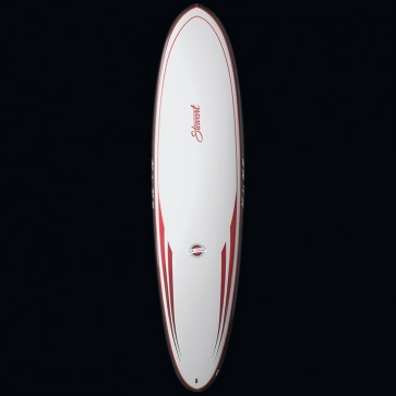 Stewart Surfboards Hydro Hull Fun Surfboard TufLite PC Top