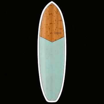 Modern Highline XB Surfboard - Sea Green - Top