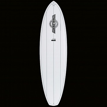 Walden Mini Mega Magic 2 X2 Surfboard - White - Top