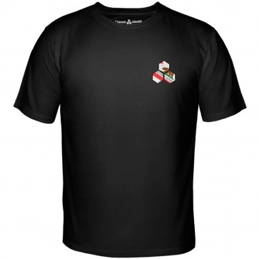 Channel Islands Cali Hex T-Shirt - Black