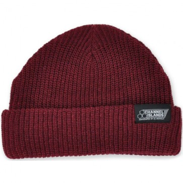 Channel Islands Flag Beanie - Maroon