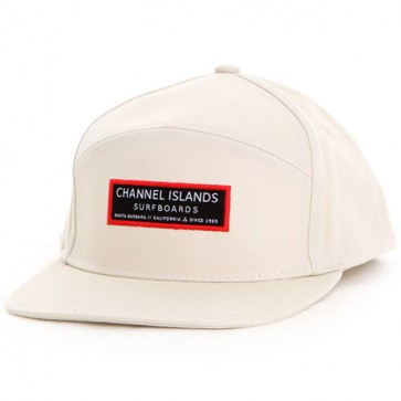 Channel Islands Clean Logo Hat - Bone White
