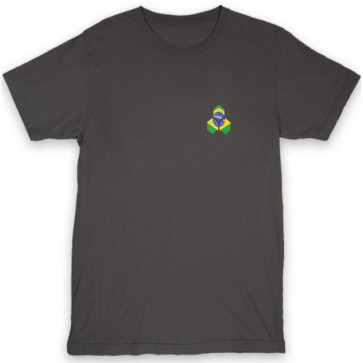 Channel Islands Brazil Distressed Hex T-Shirt - Black Washed