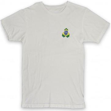 Channel Islands Brazil Distressed Hex T-Shirt - Bone White