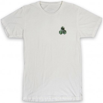 Channel Islands NW Salmon Hex T-Shirt - Bone White