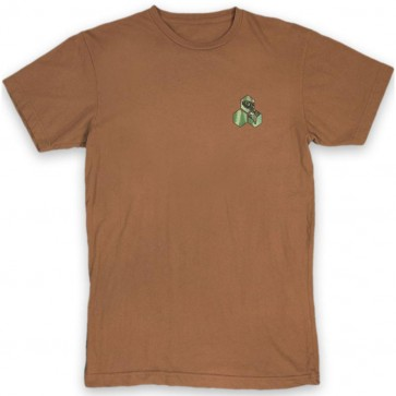 Channel Islands NW Salmon Hex T-Shirt - Rust Washed