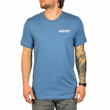 Cleanline Longboard T-Shirt - Steel Blue