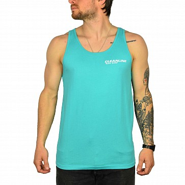 Cleanline New Rock Tank - Teal