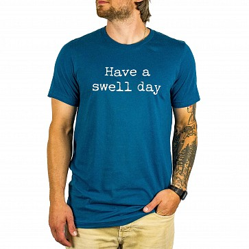 Cleanline Swell Day T-Shirt - Deep Teal