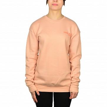 Cleanline Women's Pine Stamp Seaside Sweatshirt - Peach
