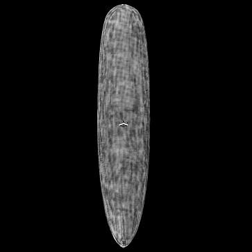 CJ Nelson Designs Colapintail Mid-Length Thunderbolt Surfboard - Deck - Black