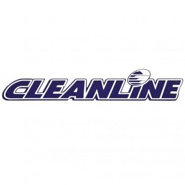 Cleanline Surf Logo Die Cut Sticker - Blue