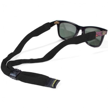 Croakie Cotton Suiter Eyewear Retainer - Black