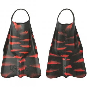 DaFiN Zak Noyle X NSLA Swim Fins - Black/Red