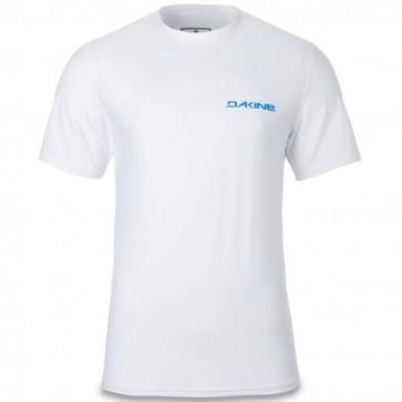 Dakine Heavy Duty Loose Short Sleeve Rash Guard - White