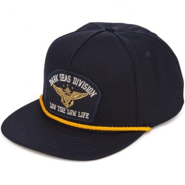 Dark Seas Magazine Hat - Navy