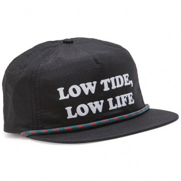 Dark Seas Gooseneck Hat - Black