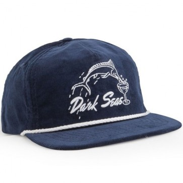 Dark Seas Albany Hat - Navy