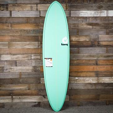 Torq Mod Fun 7'2 x 21 1/4 x 2 3/4 Surfboard - Seagreen - Deck