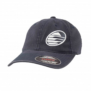 Cleanline Embroidered Rock Hat - Navy/White