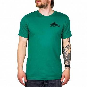 Cleanline Treeline Cannon Beach T-Shirt - Evergreen