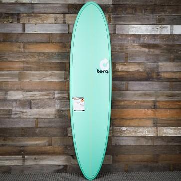 Torq Mod Fun 7'6 x 21 1/2 x 2 7/8 Surfboard - Seagreen - Deck