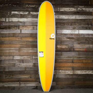 gboard 9'6 x 23 1/2 x 3 1/4 Surfboard - Grey/Yellow/Orange - Deck