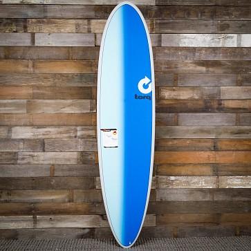 Torq Mod Fun 7'6 x 21 1/2 x 2 7/8 Surfboard - Grey/Sand/Blue - Deck