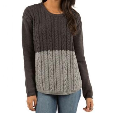 Element Women's Jonas Sweater - Charcoal Heather