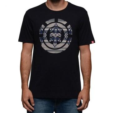 Element Blanket Icon Fill T-Shirt - Black