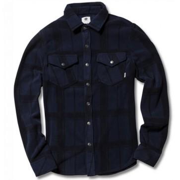 Element Lorean Long Sleeve Fleece Shirt - Eclipse Navy
