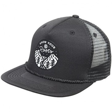 Element Roots Trucker Hat - All Black