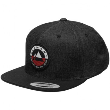 Element Crest Hat - Flint Black
