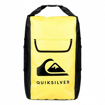 Quiksilver Sea Stash Roll-Top Wet/Dry 35L Backpack - Safety Yellow