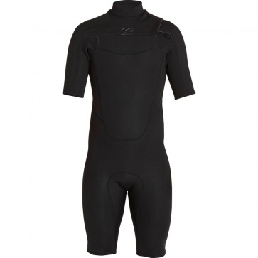 Billabong Absolute Comp 2mm Chest Zip Spring Wetsuit - Black