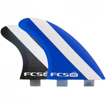 FCS Fins ARC PC Large Tri-Quad Fin Set