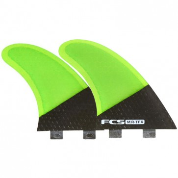 FCS Fins MR TFX PC Twin + 1 Fin Set