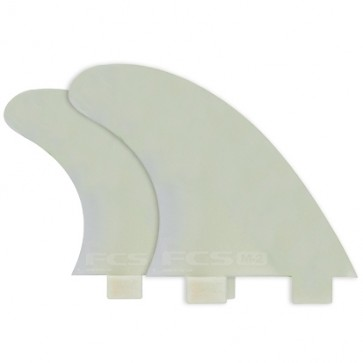 FCS Fins M3 GF G1000 Quad Fin Set - Glass