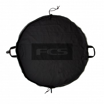 FCS Change Mat/Wet Bag - Black/Black